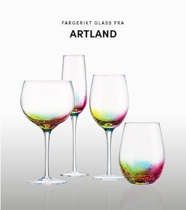 Flotte glass fra Artland