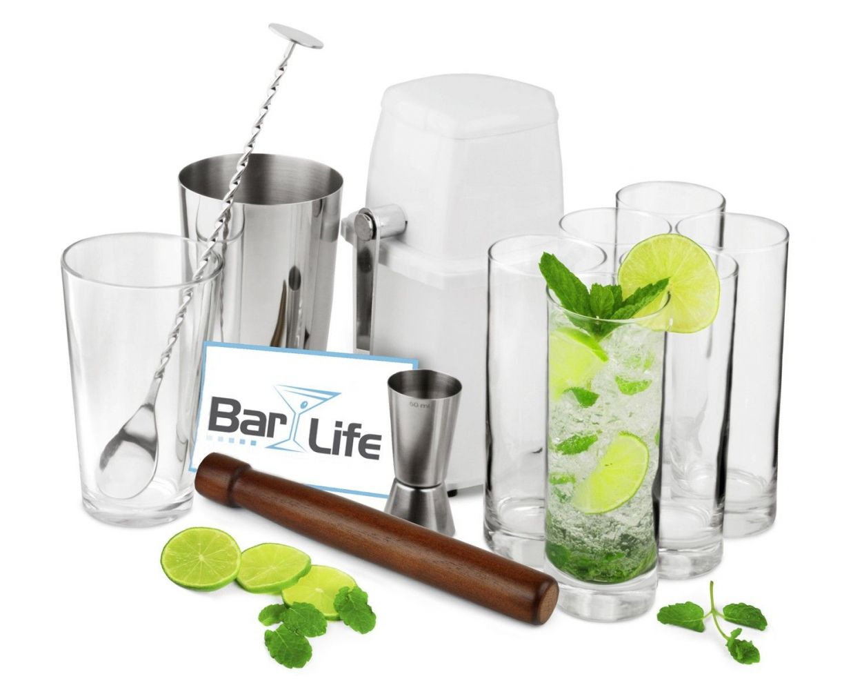 Hvordan bruke en cocktail-muddler